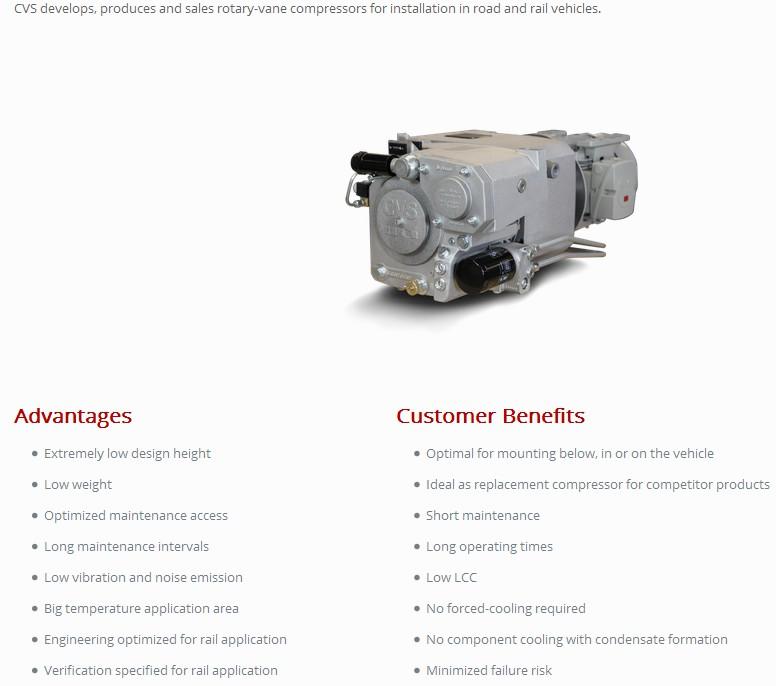 Compressor for Rail Air Brake Systems | Public Rail Transport